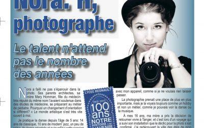 Article sur l'illustration du livre Nos années lycée – le journal de Tanger