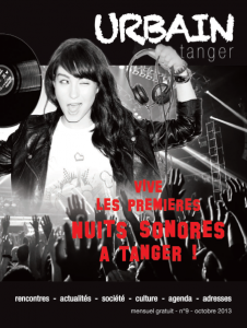 Couverture du n°9 du magazine URBAIN Tanger